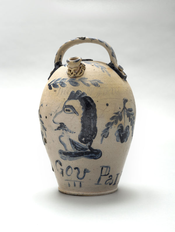 Political Harvest Jug . Artist unidentified. 1857.