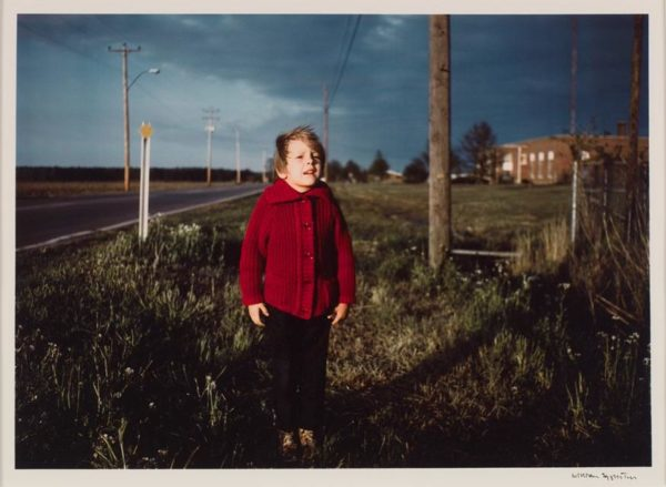 William Eggleston Untitled Young Boy in Red Sweater