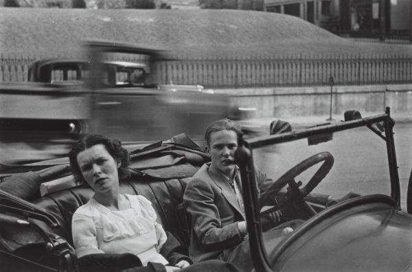 Walker Evans. Parked Car, Small Town Main Street, 1932