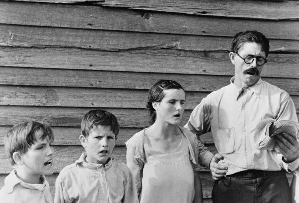 Walker Evans, Sunday Singing, 1936