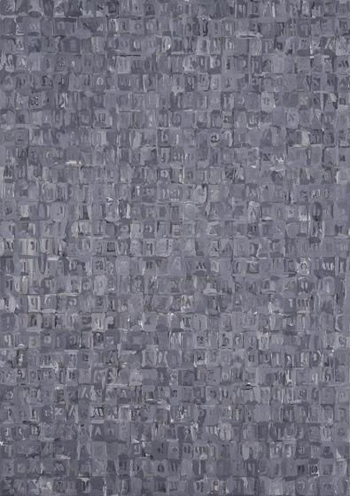 Alphabets Jasper Johns