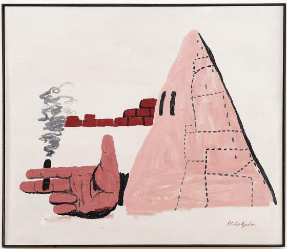 Cigar Philip Guston