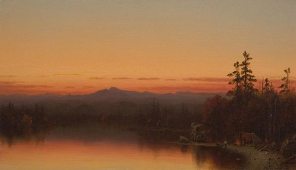 Twilight in the Adirondacks Sanford Robinson Gifford