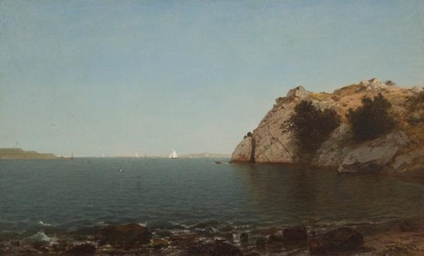 Beacon Rock, Newport John Frederick Kensett