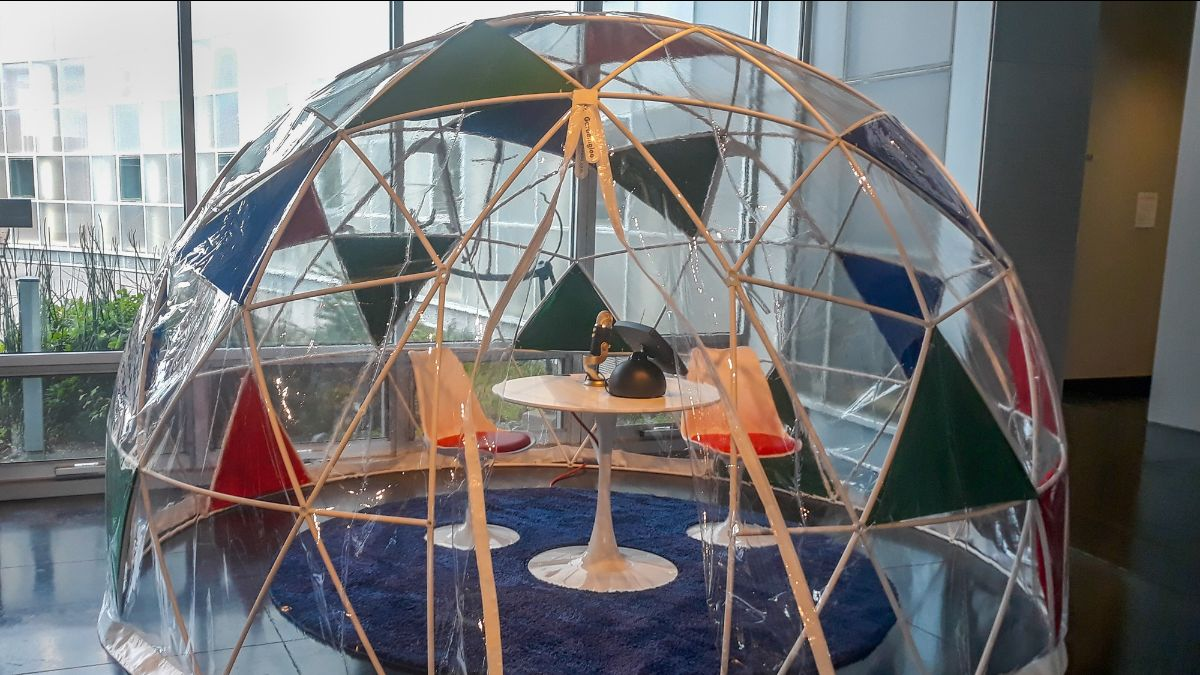 story dome at Whatcom museum
