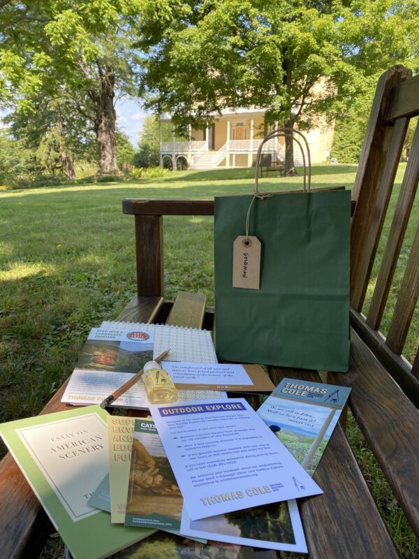 Outdoor Explore Kit at Thomas Cole National Historic Site
