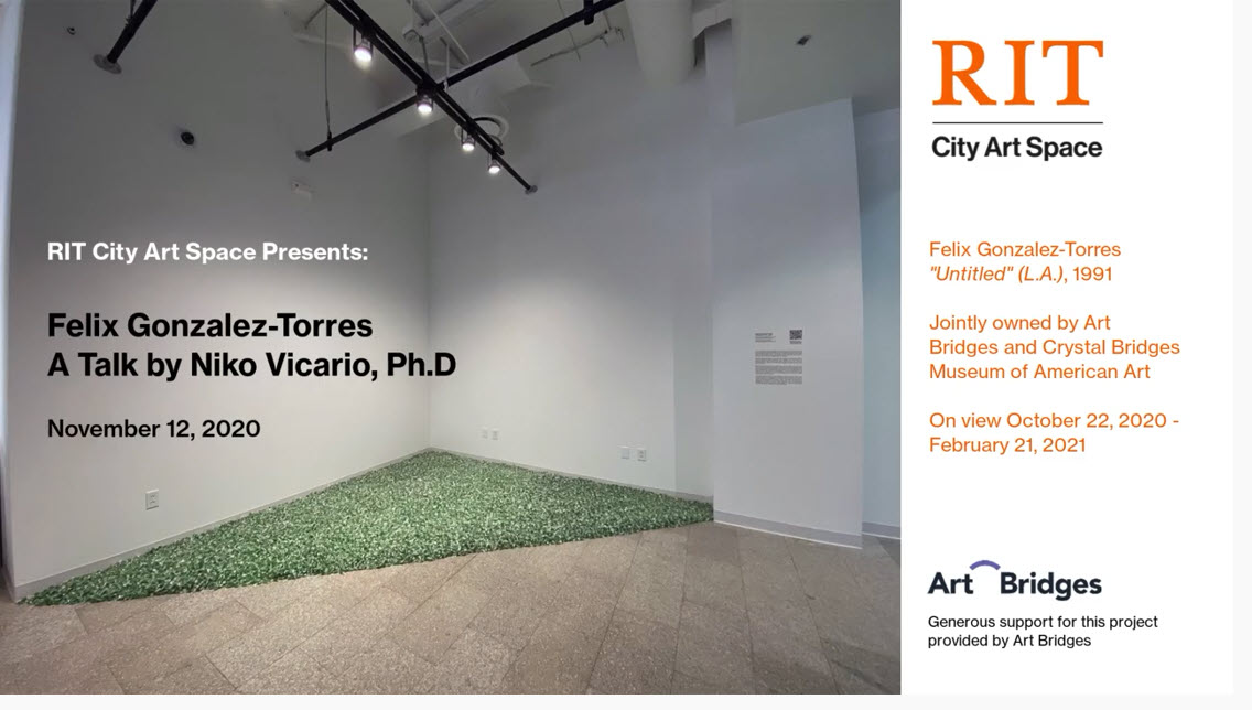 Felix Gonzalez Torres at RIT City Art Space