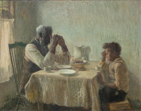 Henry Ossawa Tanner, The Thankful Poor, 1894